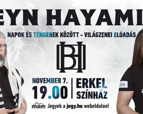 Kedvezményes Beyn Hayamim lemezbemutató koncert jegyek