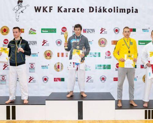 III. helyezés a WKF. Karate Diákolimpián