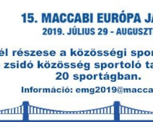 Szállásadókat keresünk a Maccabi játékok idejére!